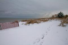 Hello Snow (Lester Public Library) Tags: beach beaches tworiverswisconsin tworivers neshotahbeach neshotah neshotahpark snow wisconsin greatlakes lakemichigan lake water lesterpubliclibrarytworiverswisconsin readdiscoverconnectenrich