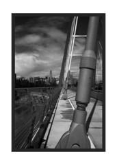 Walterdale Bridge (Pics from the Bird Cage) Tags: nikon nikonf2 nikonf2photomic edmonton monochrome edmontonalberta ilford ilfordpanf ilfordpanf50 film filmcamera filmisnotdead classiccamera 35mm 35mmfilm 35mmphotography tokina tokinael tokinael28mm bw blackandwhite blackwhite argentique analog analogue rodinol walterdalebridge