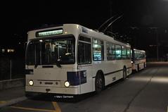 Trolleybus NAW BT-25 n°781 en service sur la ligne 9. © Marc Germann (Marc Germann) Tags: trolleybus naw bt25 bus tl lausanne transportspublics transport fbw hesskièpe hessag remorque retrobus convois ligne9 historique historic vignes rochatlauber