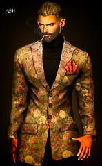 No843 (ashraf rathmullah) Tags: gild blog flickr instagram hn sweater suit geralt gianni jake black brown flower fameshed november 1st 27th