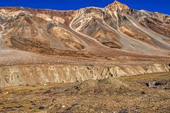 gravel slide 2 (Rajiv Lather) Tags: ladakh india mountains himalayas leh glacier snow gravel slide rocks