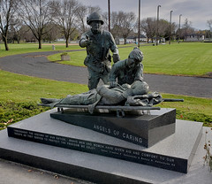 Angels of Caring, MN. 1 (s9) (Mr. Mega-Magpie) Tags: samsung s9 outdoors monument soldiers field memorial honoring southeast minnesota rochester mn