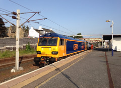 Photo of 92020 at Carstairs
