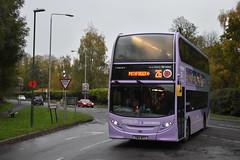 Nottingham City Transport 618 (Ash Hammond) Tags: nottinghamcitytransport scanian230ud alexanderdennisenviro400 618 yn14mty