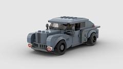 Ara Racing (Antony.me) Tags: lego 50s car vehicle automobile racing