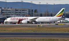 Ethiopian ET-AUP, OSL ENGM Gardermoen (Inger Bjørndal Foss) Tags: etaup ethiopian boeing 787 dreamliner osl engm gardermoen