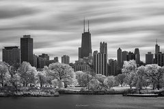 FROM THE OTHER LIGHT (Nenad Spasojevic) Tags: spasojevic monoart nenografiacom lincolnpark movement sonyalpha johnhancock clouds blackandwhite white windycity infraredlight 830nm reflection nenadspasojevicart bw fall black shadow sony willistower illinois longexposure otherlight nenad a7r ir tones water chi infrared 2019 architecture fineart shades trees fromtheotherlight light monochrome chicago il