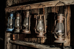 Portable Lighting System (gpa.1001) Tags: california owensvalley easternsierra bodie firehouse lanterns ghosttown monocounty