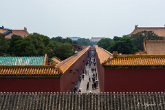 Alley (E. Aguedo) Tags: alley architecture famousplace history travel chineseculture china outdoors tourist palace museum ancient old asia