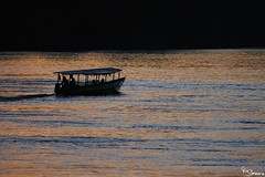 Boat (Kusi Seminario) Tags: rainforest amazonas amazonia amazon selva jungle river rio nature naturaleza outdoors landscape paisaje tambopata madrededios ceccot peru southamerica sudamerica sunset atardecer