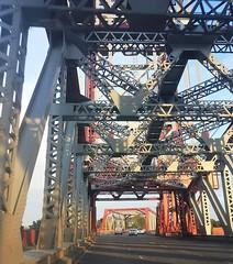 Middlesbrough - Newport Bridge (Gilli8888) Tags: cameraphone s7 samsung northeast teeside middlesbrough bridge newportbridge metal road geometric angles