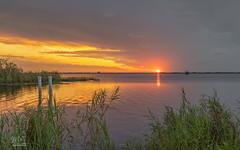Sunset over Lake Washington (Michael Seeley) Tags: canon florida lakewashington melbourne mikeseeley sunset