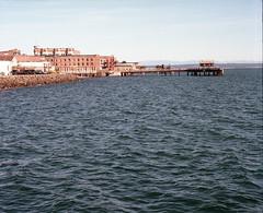 View from Port Townsend ferry terminal (Kent C.) Tags: mamiyarb67pros film filmphotography kodakfilm kodakportra160 120film