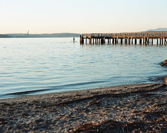 Around the pier (Kent C.) Tags: mamiyarb67pros film filmphotography kodakfilm kodakportra160 120film