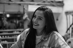 DSC_3297 (johnmoralesh) Tags: smile beautiful beauty belleza girl colombia closeup 35mm photography photoshoot amazing sweet portrait blancoynegro blackandwhite background