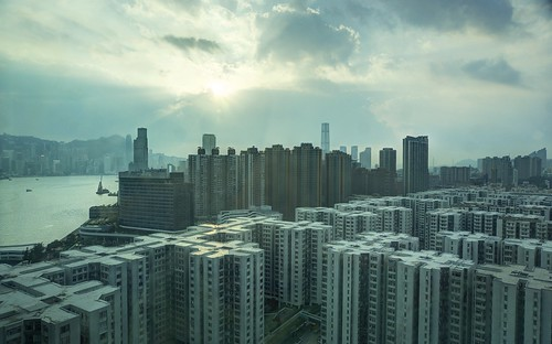 Afternoon light over Kowloon
