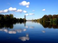 Berlin - die Spree (Berliner in Brasil) Tags: berlin river fluss clouds wolken treptow saariysqualitypictures