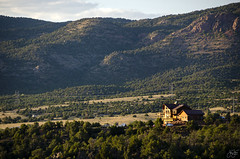 Papa was a rollin' stone (Jersey JJ) Tags: papawasarollinstone house on the hill mountains landscape
