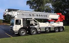 Putzmeister Telebelt TB 110 Truck (raserf) Tags: putzmeister telebelt concrete cement truck trucks tb 110 pump pumper pumping mack sturtevant wisconsin racine county conveyor