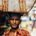 Man With Basket on Head, Chittagong Bangladesh