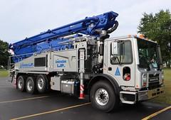 Les Construction LJP Inc. Truck (raserf) Tags: les construction ljp inc concrete cement truck trucks pump pumper pumping mack putzmeister sturtevant wisconsin racine county mascouche quebec canada