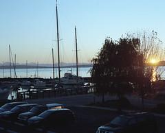 Point Hudson sunrise (Kent C.) Tags: mamiyarb67pros film filmphotography kodakfilm kodakportra160 120film