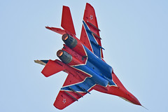 Swifts Aerobatic Team (Nils Mosberg) Tags: maks2019 zhukovsky swiftsaerobaticteam mig29fulcrum teamstrizhi