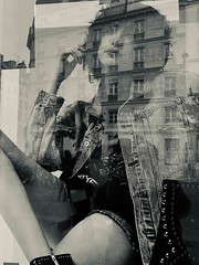 Reflection Series-7349 (David Swift Photography) Tags: davidswiftphotography reflections shopwindows fashionads reflectionthroughawindow mirrorimage surreal parisfrance