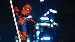 The Amazing Spider-Man (::nicolas ferrand simonnot::) Tags: leitzsummiluxr50mmf14 leitz summilux r 50mm f14 viltrox effx ii speed booster 071x guardians galaxy groot marvel avengers viltroxeffxiispeedbooster071x the amazing spiderman bleacher creatures