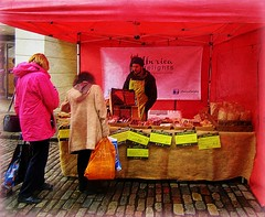 'Iberia Delights' Meats, cheeses etc .. (John(cardwellpix)) Tags: once monthly farmers food producers high street market november ~ guildford surrey