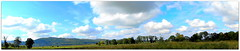 Panorama. (andrzejskałuba) Tags: poland polska pieszyce dolnyśląsk silesia sudety europe green góry górysowie mountainsofowls mountains view white widok krajobraz landscape panorama natura nature natural natureshot natureworld nikoncoolpixb500 niebieski niebo naturephotographer nopeople outdoor day jesień autumn beautiful beauty blue biały brown brązowy beautyofnature color cień colour clouds chmury zieleń grass trawa trees tree las flora floral forest wood pole pola field 1000v40f 1500v60f