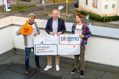 Gespräch mit der Oldenburger Energiegenossenschaft Olegeno - Energiewende aus Bürgerhand!