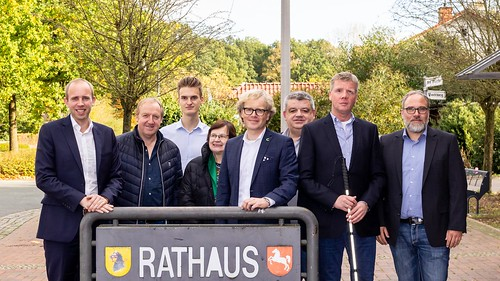 Austausch mit der SPD Cloppenburg und dem Bürgermeister der Gemeinde Cappeln, Marcus Brinkmann.