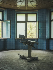 Operating Room (Some Place Only We Know) Tags: hospital blue krankenhaus stuhl chair op surgery okd decay urbex verfall urban exploration abandoned verlassen klinik