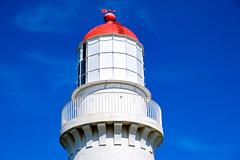 Lighthouse top (RP Major) Tags: cape schanck lighthouse victoria australia fujixt30 sky mornington peninsula