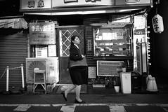 Tokyo street (harumichi otani) Tags: bw blackandwhite blackandwhitephotography streetphotography street streetphoto monochrome tokyo