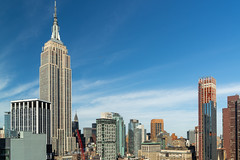 ESB and Koreatown (fate atc) Tags: empirestatebuilding koreatown manhattan murrayhill newyork buildings city frommidtown lights skyline
