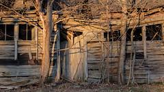 Last Light (jtr27) Tags: dscf0450xl jtr27 abandoned house weathered wood maine newengland sunset cabin ruin