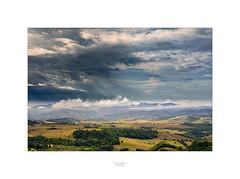 Gewitterfront über der Toscana (Schilt Thomas) Tags: sangimignano toscana toskana italien wetter gewitter italia italy wolken clouds