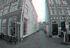 Korte Spaarne Haarlem 3D GoPro B&W