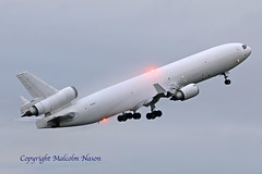 MD11F N411SN WESTERN GLOBAL (shanairpic) Tags: jetairliner freighter md11 shannon westernglobal n411sn