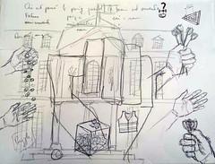 #GrandPublic/ Du dessin aux arts plastiques/ S. Caty (esamCaenCherbourg) Tags: esamcaencherbourg grandpubliccaen atelieradultes sylviecaty dessin 20192020 esamscdessinartplastique