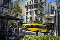 Willis Street- Wellington (andrewsurgenor) Tags: trolleybuses trolleybus trolleycoach trolebús trolejbusowy trolleybuswellington trolejbus trolle obus filobus gowellington nzbus