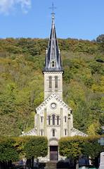 Vernon church (hbensliman.free.fr) Tags: travel nature france landscape outdoor outside îledefrance autumn pentax pentaxart church village architecture
