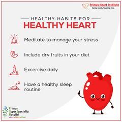Healthy habits for Healthy Heart (prashant.ahauja19) Tags: heartdisease ischemicheartdisease heartattacktreatment rheumaticheartdisease healthcheckuppackagesindelhincr