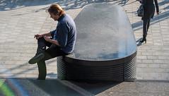 20191030 atrium [jan vonk]_IMG9268_d (AmsterdamZuidas) Tags: architectuur janvonk 2019 oktober persoon zakenman amsterdam noordholland nederland