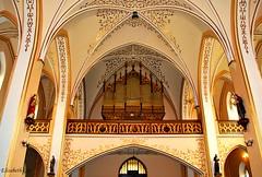 The Church of the assumption of St. Mary's Church in Wodzisław śląski -32 (Elisabeth Gaj) Tags: elisabethgaj poland polska polen europa wodzislawsl church interior architecture building