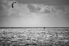 Kitesurfing (jörg_grontzki) Tags: travelpics travel telephoto sport northsea nordsee kite kitesurfing