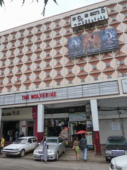 'The Wolverine', Playing at a Cinema in Downtown Yangon, Myanmar (vertivcal)