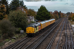 04.11.19 | 37116, Worting Junction (Jamie A. Hunter) Tags: canon canonphotography canoninc canonef24105mmf4lisusm canoneos5ds digital photography photograph train railway railways diesel basingstoke wortingjunction worting hampshire freightliner colasrailfreight colasrail southwesternmainline lswr